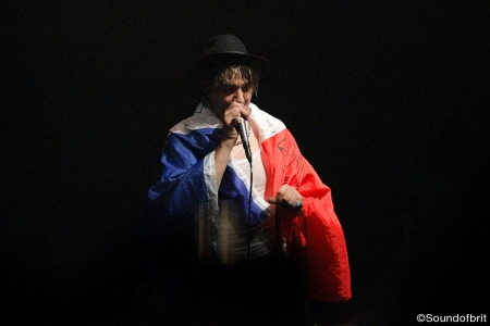 Pete Doherty en concert au Bataclan, photo (c) SoundofBrit